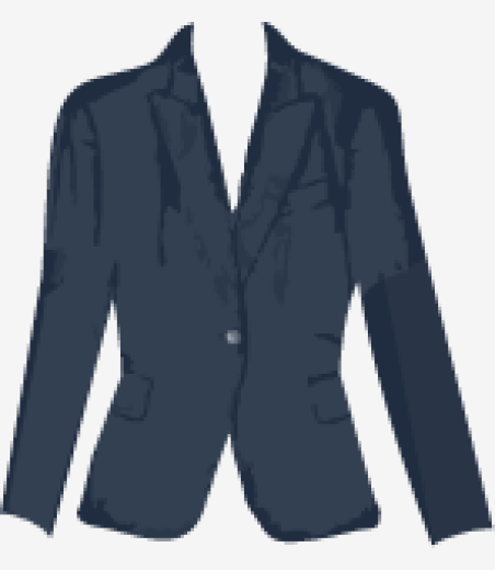 Prussian-blue Stella McCartney Fitted Jacket