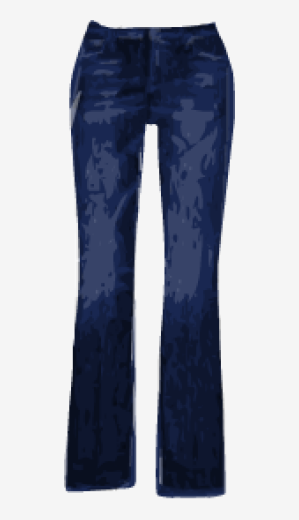 Dark-navy 7 For All Mankind Tapered Jeans