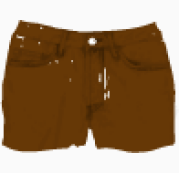 Acne Hot pants jeans