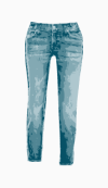 7 For All Mankind Cropped