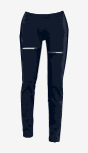 Charcoal-blue Preen Line Skinny Jeans