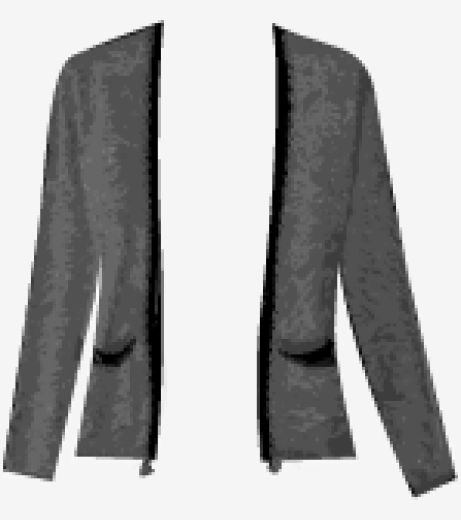 Black Maje Cardigan