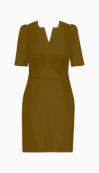 Michaela Jedinak Fitted Dress