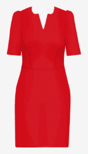 Scarlet Michaela Jedinak Fitted Dress