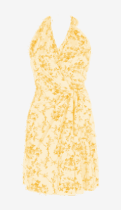 Amber Balenciaga A Line Dress