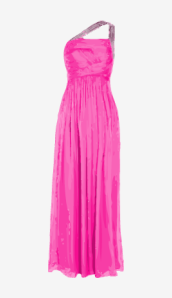 Hot-pink Matthew Williamson Empire Dress