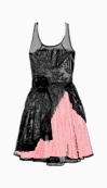 Red Herring A Line Dress