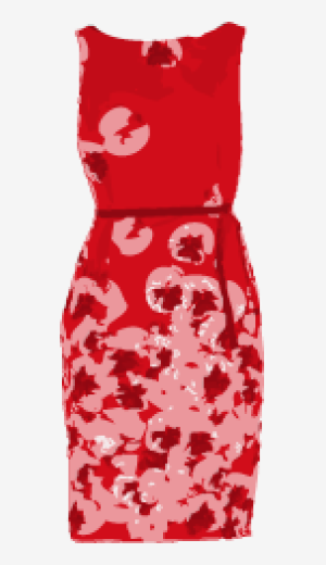 Scarlet Max Mara Belted Dress