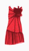 Red Valentino Drop Waist Dress