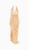 Halston Halter Dress