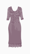 CLEMENTS RIBEIRO Fitted Dress