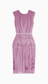 Calvin Klein Collection Fitted Dress