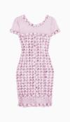 Oscar de la Renta Fitted Dress