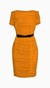 Burberry Belted Dress