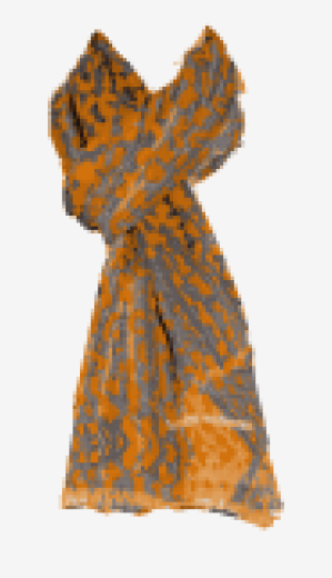 Orange-red Matthew Williamson Long Scarf