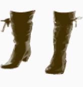 Chloe calf boots