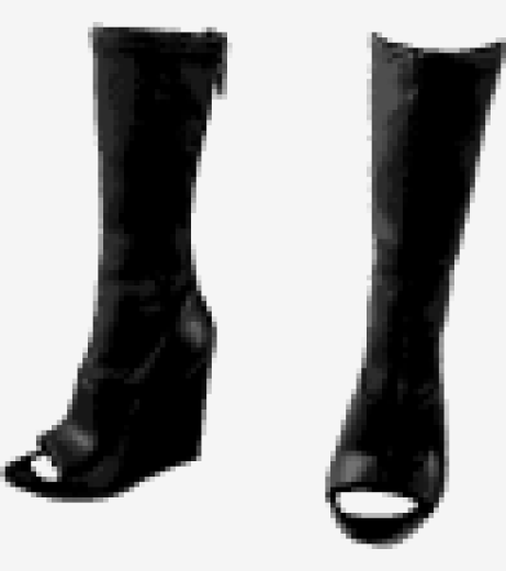 Black Alexander Wang Knee Boots