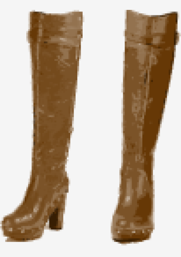 Brown Kors By Michael Kors Over The Knee Boots