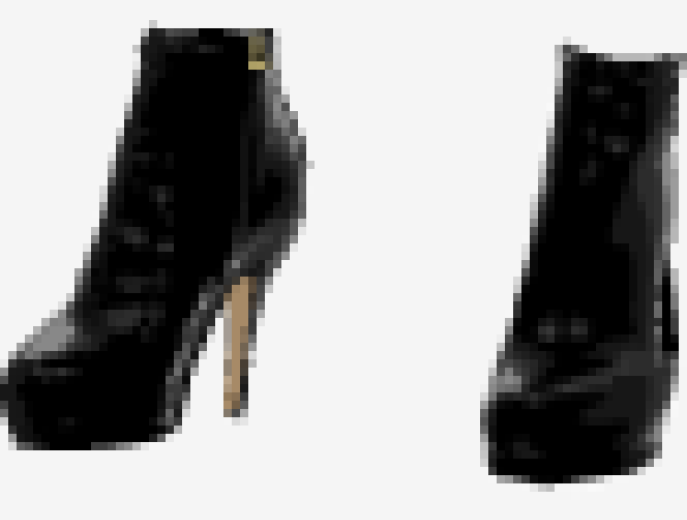 Black Gucci Ankle Boots