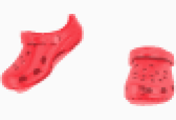 Crocs round toes