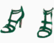 Saint Laurent Ankle wrap shoes