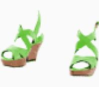 Saint Laurent open shoe
