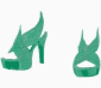 Diane Von Furstenberg open shoe
