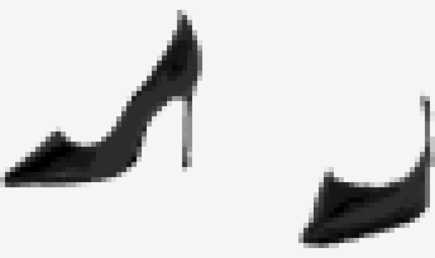 Black Jimmy Choo Pointed Shoes
