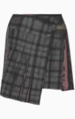 Chloe Asymmetric skirt