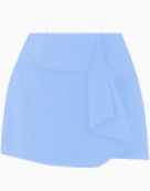 Balenciaga Asymmetric skirt
