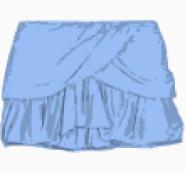 Maje Asymmetric skirt