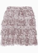 Alice + Olivia Tiered Skirt