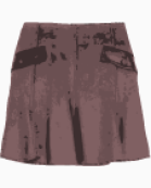 Rag & bone Box pleats skirt