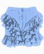 Topshop Asymmetric skirt