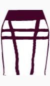 Herve Leger Bodycon skirt