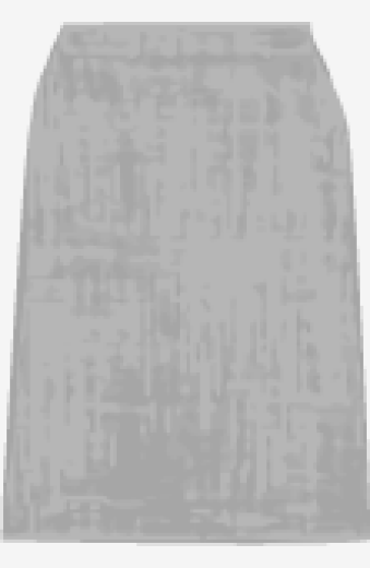 Grey Marc Jacobs A Line Skirt