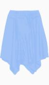 Helmut Lang A Line skirt