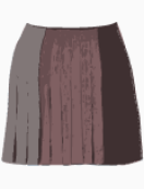 DKNY Flared Skirt