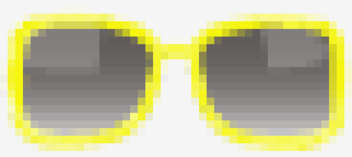 Yellow Tom Ford Over Sized Sunglasses