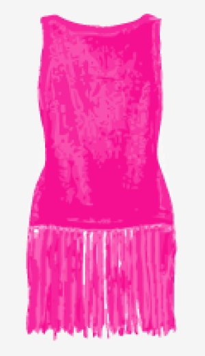 Hot-pink Moschino Fitted Top