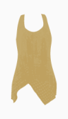 Preen Line Asymmetric Tops