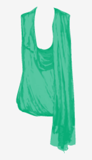 Sea-green Alexander Mcqueen Tank Top