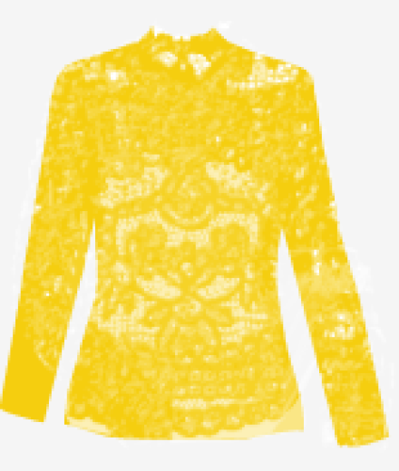 Mellow-yellow Marc By Marc Jacobs Fitted Top