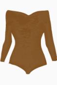 Carven Bustier Top