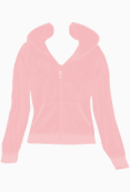 Juicy Couture Hooded Top
