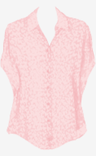 Blush-pink Adam Asymmetric Tops