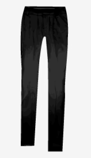 Black Gucci Straight Leg Trousers
