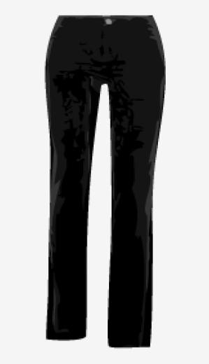 Black J Brand Tapered Trousers
