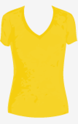 Mellow-yellow James Perse Fitted Top