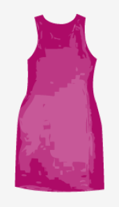 Red-violet Stella McCartney Shift Dress